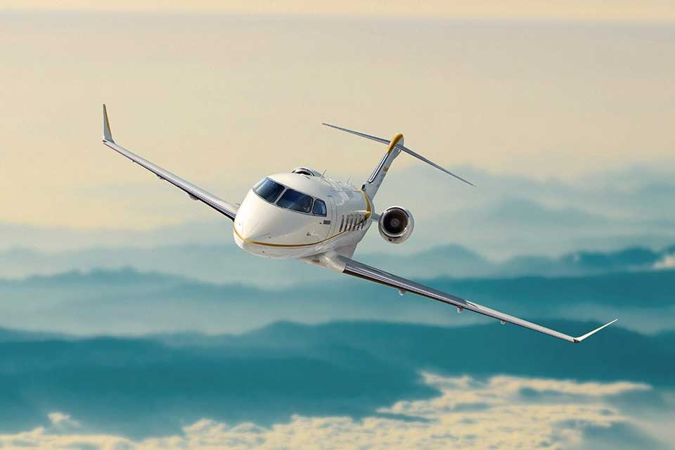 Private Jet Charter - Bombardier Challenger 350