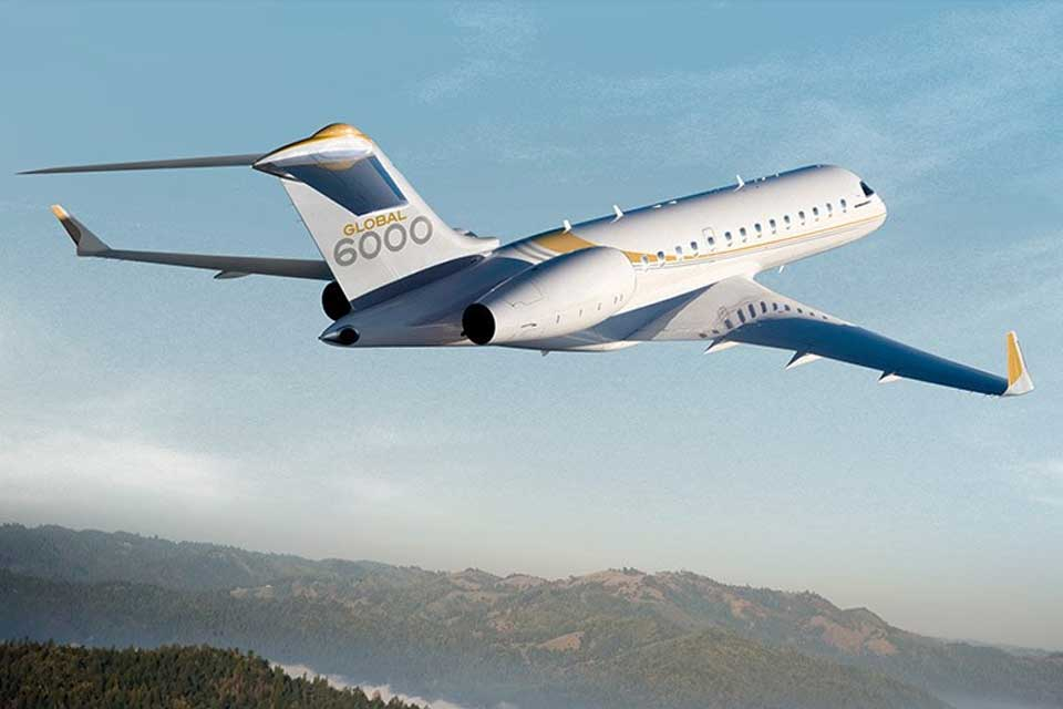 Private Jet Charter - Bombardier Global 6000