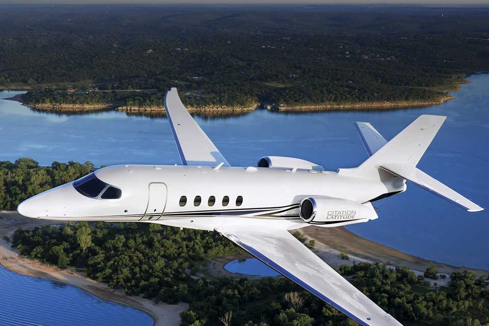 Private Jet Charter - Cessna Citation Lattitude