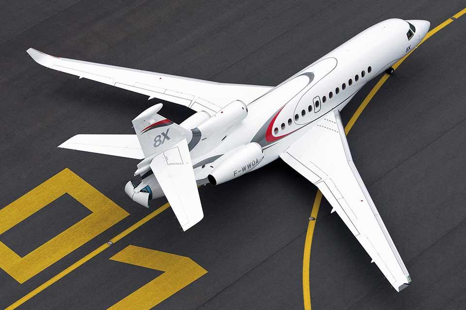 Private Jet Charter - Dassault Falcon 8X
