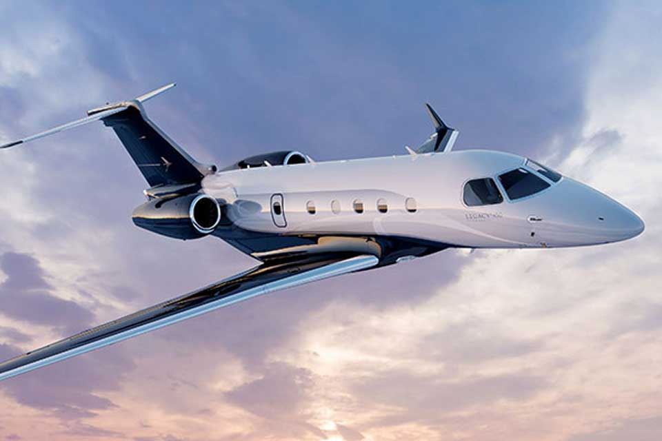 Private Jet Charter - Embraer Legacy 450