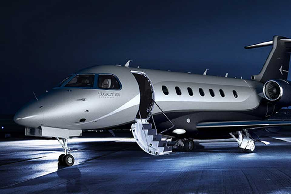 Private Jet Charter - Embraer Legacy 500