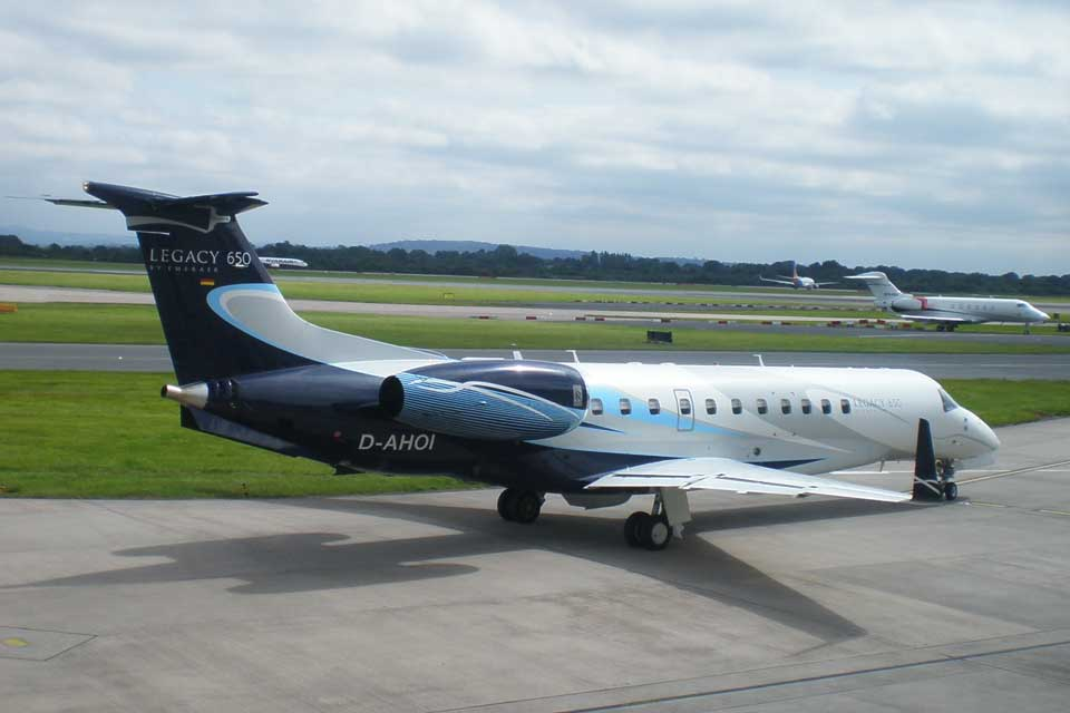 Private Jet Charter - Embraer Legacy 650