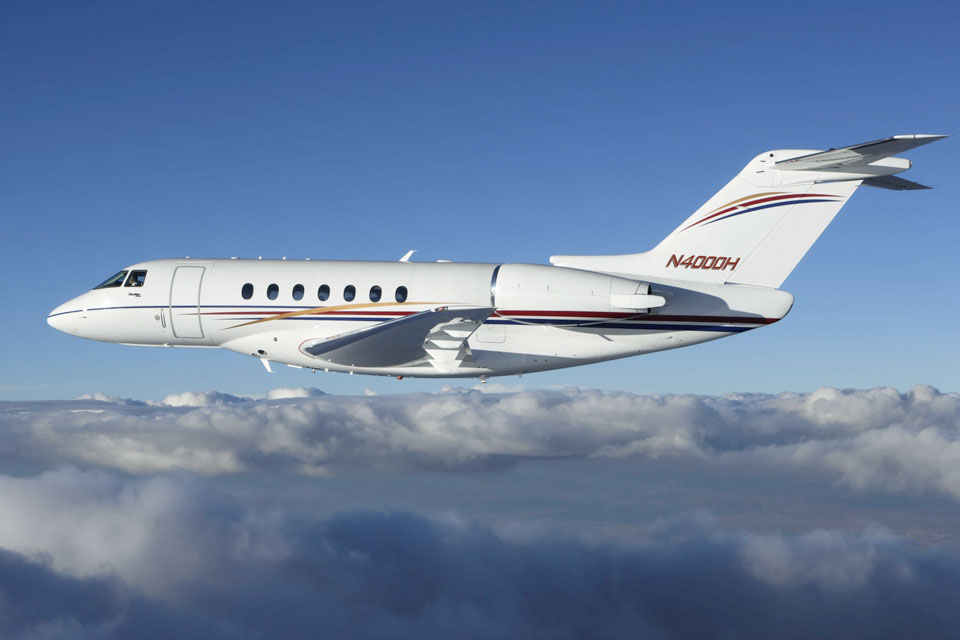 Private Jet Charter - Hawker 4000