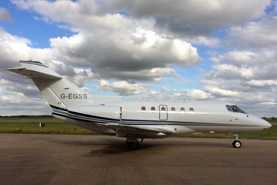 Private Jet Charter - Hawker 800XP