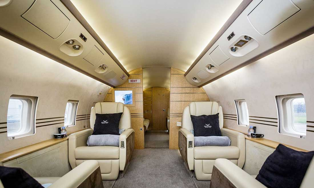Private Jet Charter - Aircraft Guide - Falcona Private Jets
