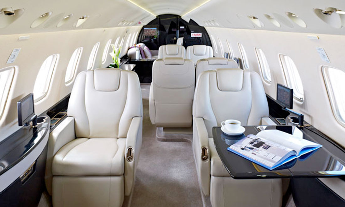 Private Jet Charter - Heavy Jets