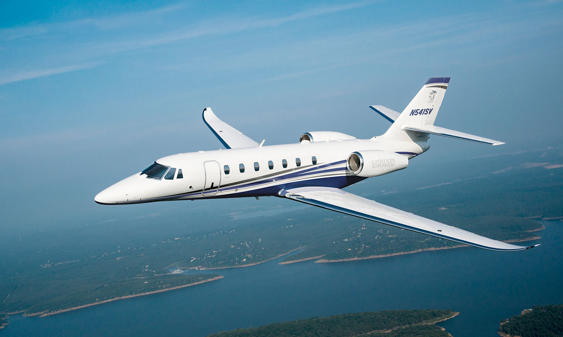 Private Jet Charter - Super Mid-Size Jets