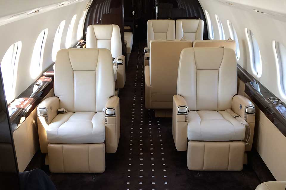Bombardier Global Express XRS LUXURY INTERIOR