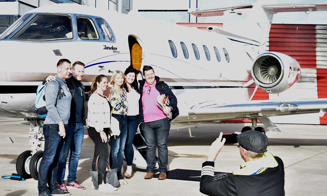 travel by private jet with Falcona Private Jets