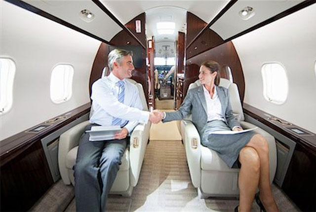 private jet charter for business