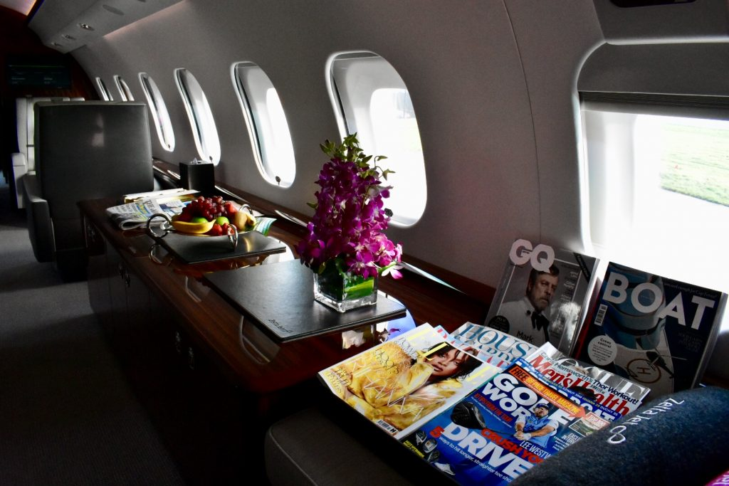 GLOBAL 6000 INTERIOR MAGAZINES