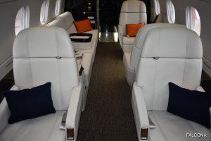 Embraer Legacy 500 cabin