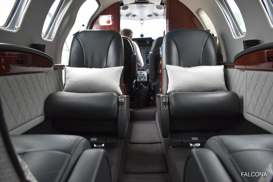 Cessna Citation CJ2 cabin interior