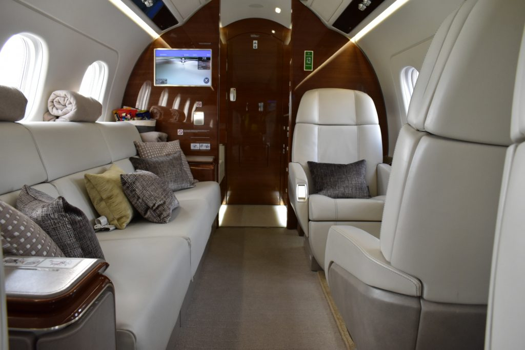 embraer legacy 500 interior