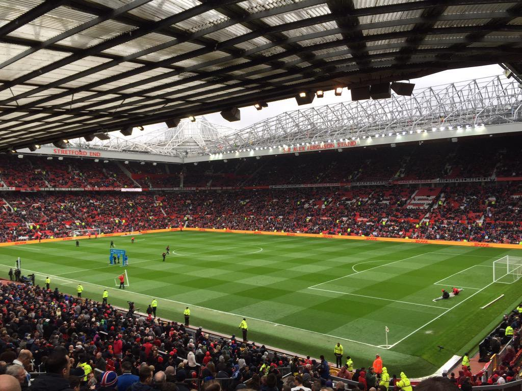 Old Trafford football ground