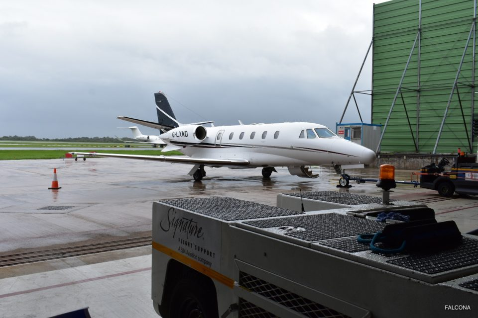 Cessna Citation XLS Manchester Airport