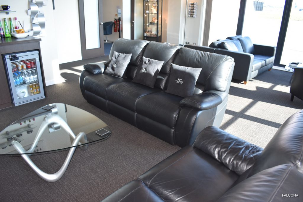 FBO lounge, where you can relax prior to your flight