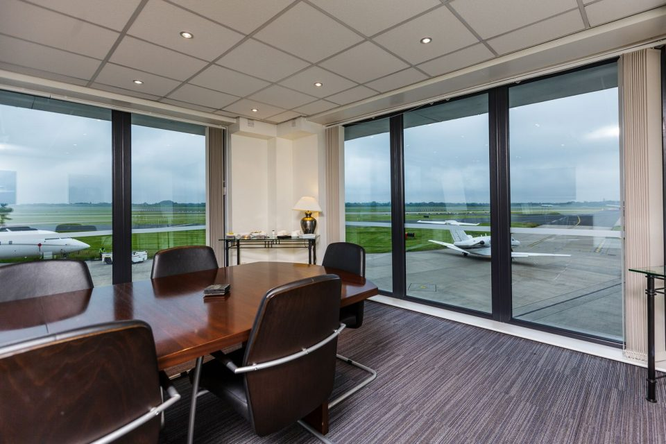VIP conference room at Manchester Airport