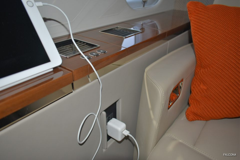 Bombardier Global 5000 ipad