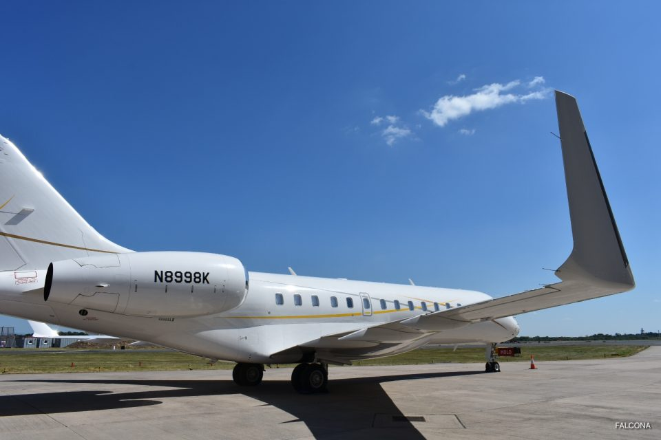 Bombardier Global 6000 is approved to fly into London City Airport