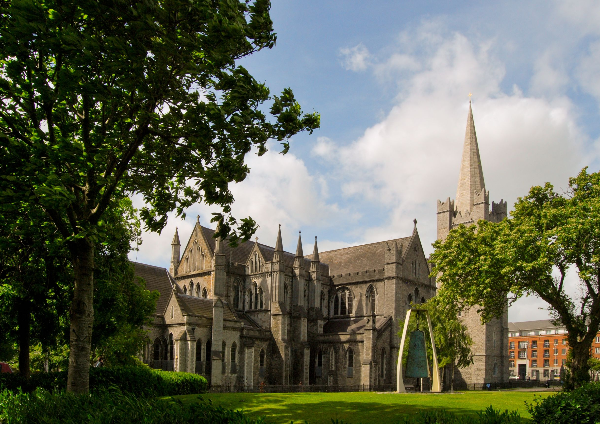 the saint patrick cathedral, dublin