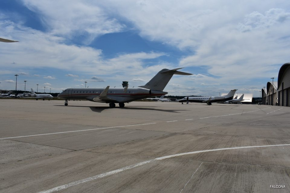 Farnborough Airport private jets
