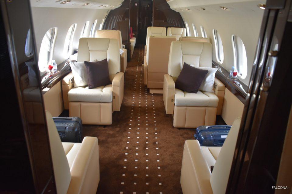 Bombardier Global 6000 interior