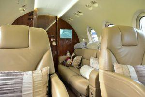 Hawker 900XP CABIN INTERIOR
