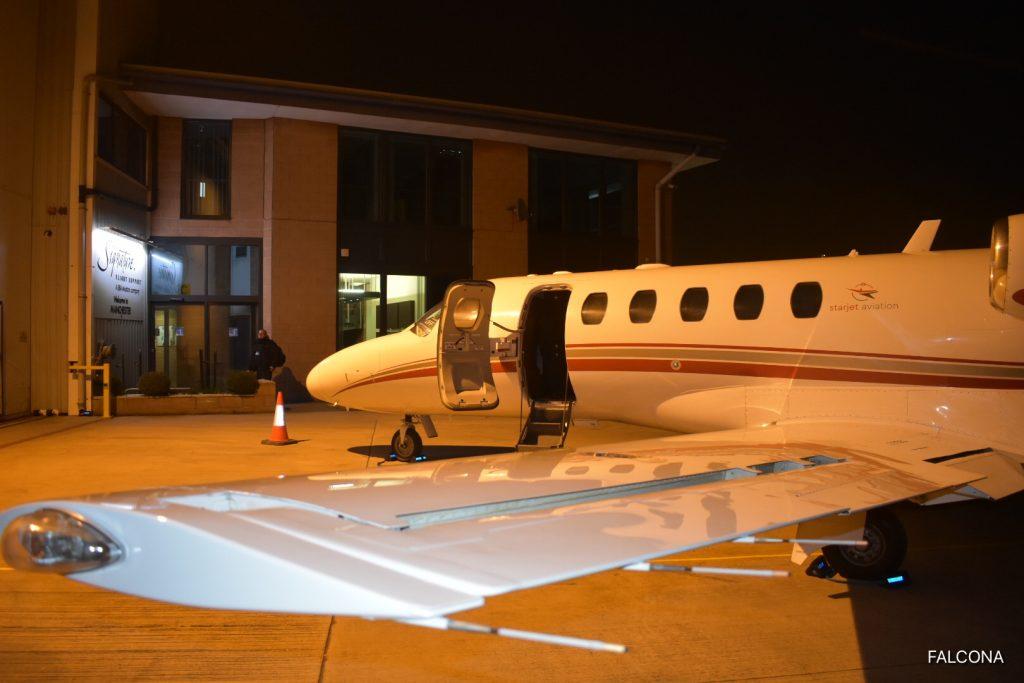 Cessna Citation CJ2+ AT MANCHESTER AIRPORT