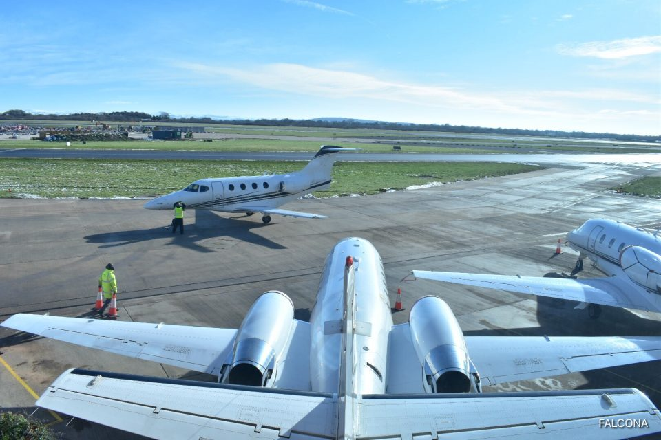 Premier 1A at Manchester Airport