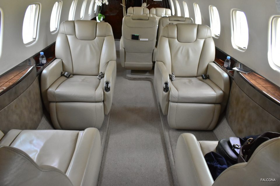 Embraer Leagcy 600 interior