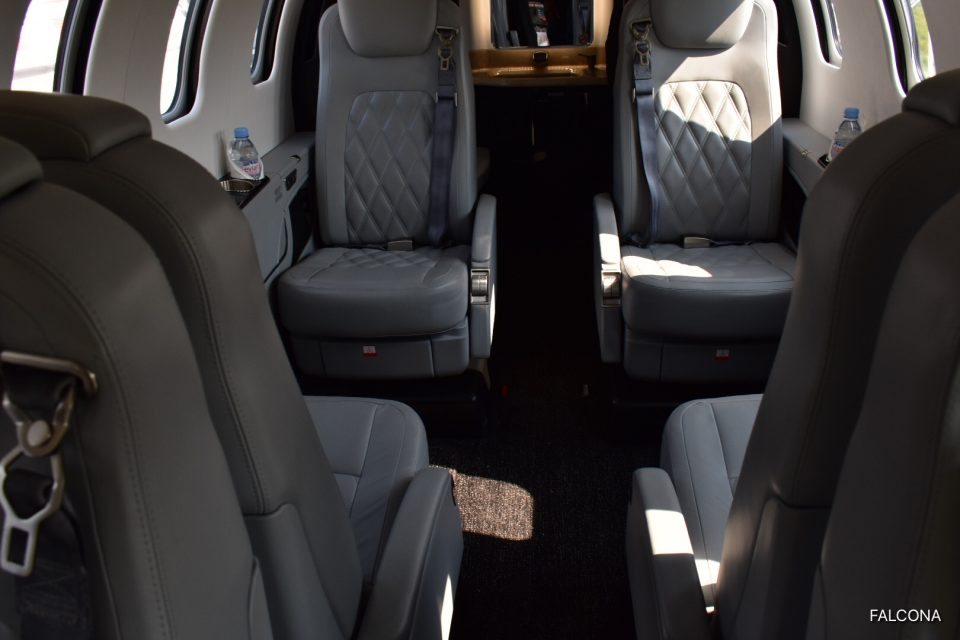 Bombardier Learjet 75 interior private jet