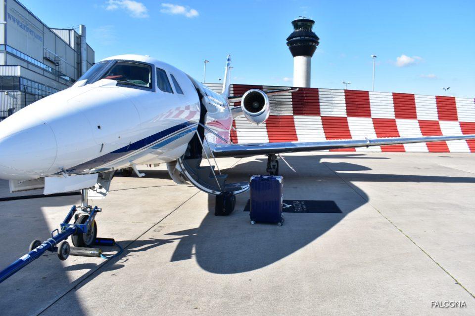 Cessna Citation XLS+ mANCHESTER airport