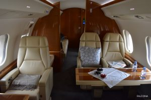 Bombardier Global 6000 cabin