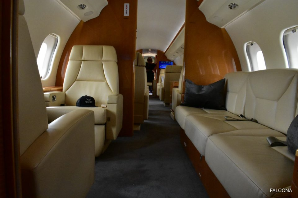 Bombardier Global 6000 interior