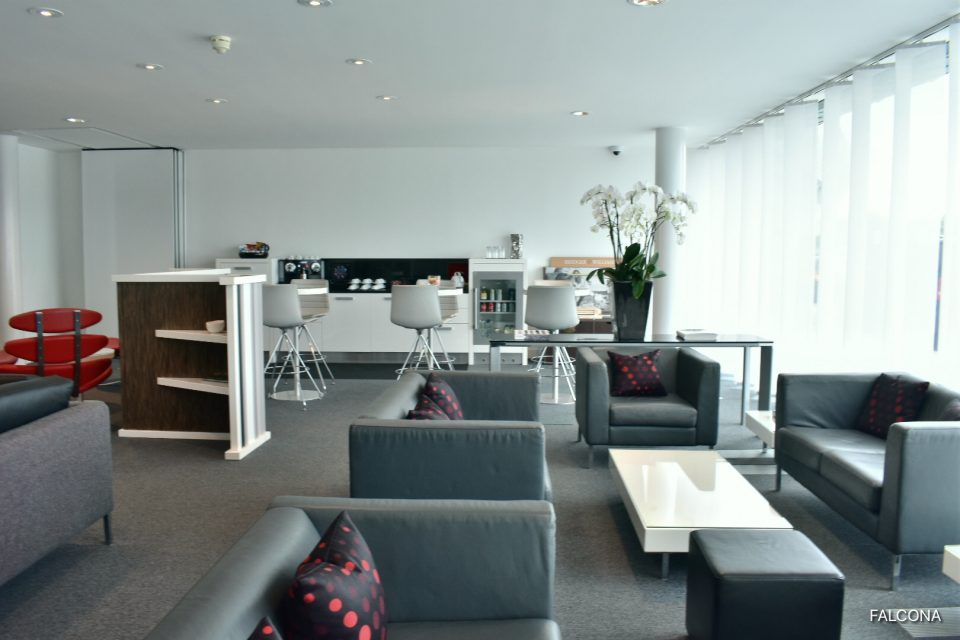 Lounge at Farnborough Airport