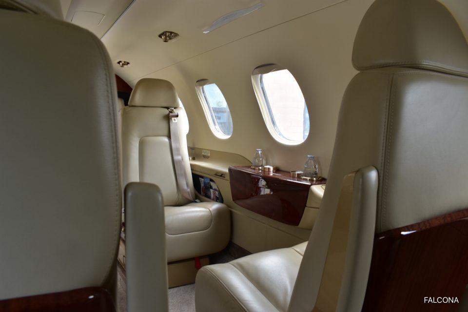 embraer phenom 300 interior