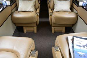 Beechjet 400A cabin