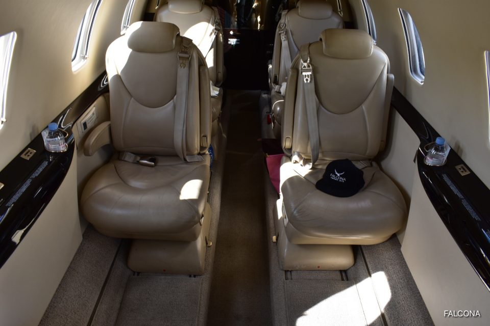 Cessna Citation XLS cabin interior