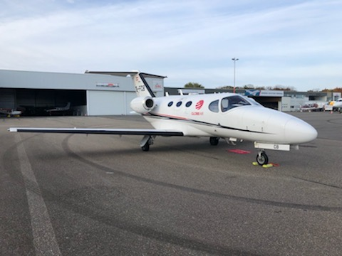 Cessna Citation Mustang at Maastricht Airport