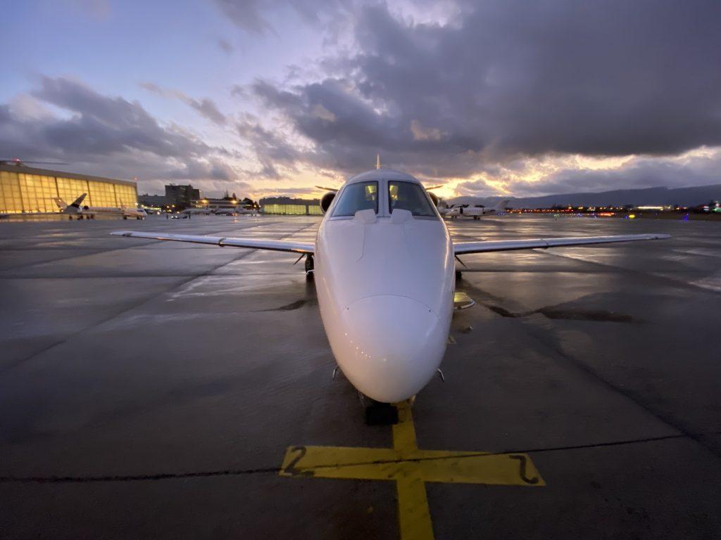 Cessna Citation XLS at Geneva Airport