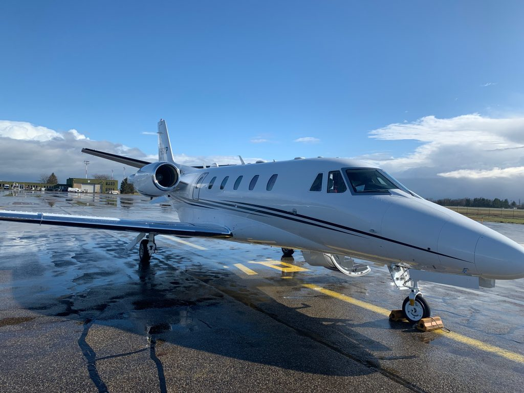 Cessna Citation XLS+ at Strasbourg Airport