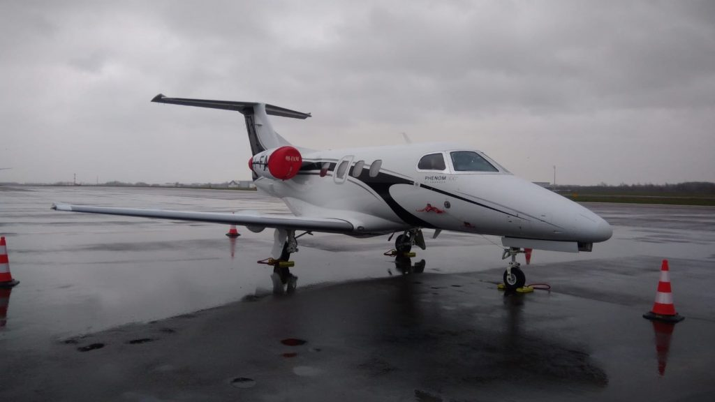 Embraer Phenom 100 at Maastricht Airport
