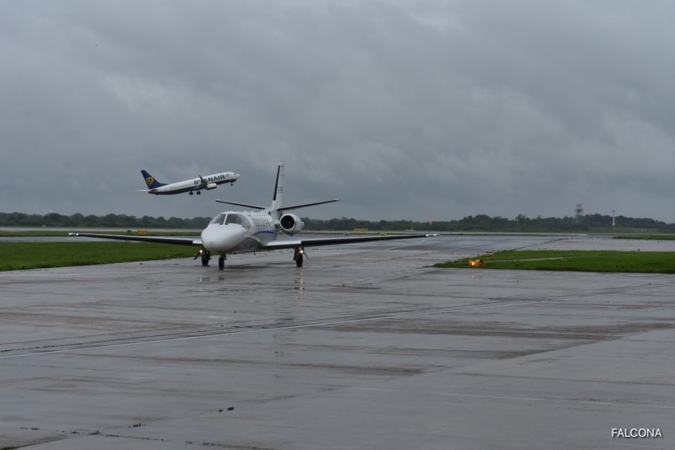 CITATION BRAVO MANCHESTER AIRPORT