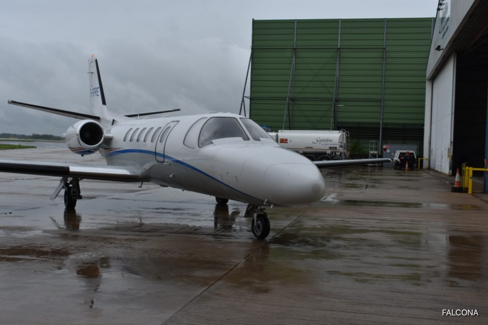 CITATION BRAVO MANCHESTER AIRPORT