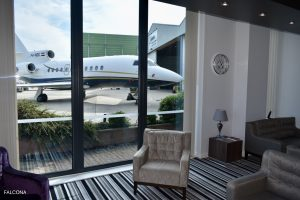 VIP lounge at Manchester Airport