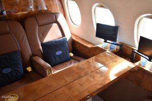 Dassault Falcon 900B cabin interior