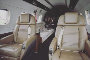 Embraer Legacy 500 cabin interior