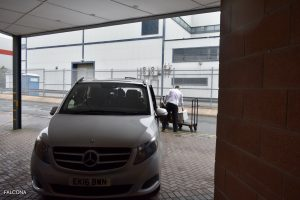 Chauffeur transfer to Manchester Airport